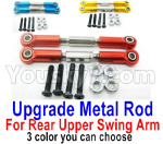Wltoys 124018 Parts Upgrade Metal Rod for the Rear and Upper Swing Arm-2pcs-3 Color you can choose
