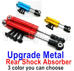 Wltoys 124018 Parts Upgrade Metal Rear Shock Absorber(2pcs)-3 Color you can choose-124018.1316