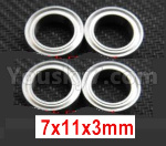 Wltoys 124018 Parts Ball bearing 7X11X3mm-A949-35