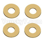 Wltoys 124018 Parts Gasket-12X5.2X0.2-4pcs-12428.0066