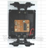 Wltoys 18428-B Car Spare Parts-0546 Car Bottom unit(Inclde Circuit board,Switch,Battery cover,Bottom frame)