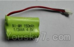 Wltoys 24438 Car Spare Parts-0179 NiMH 4.8V 150mAh rechargeable battery