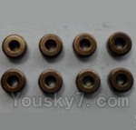 Wltoys 24438 Car Spare Parts-0194 Oil copper sets(Φ2×Φ5×2.5mm)-8pcs