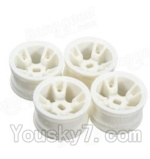 Wltoys A202 Parts-07 A202 Car Hub,Car wheel(4pcs)
