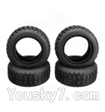 Wltoys A202 Parts-13 A202 Tire leather(4pcs)