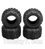 Wltoys A212 Parts-14 A212 Tire leather(4pcs)