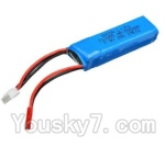 Wltoys A202 A212 A222 A232 A242 A252 Parts-19 7.4v 500mah battery(1pcs)