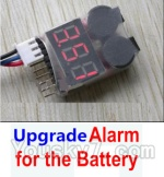 Wltoys A202 A212 A222 A232 A242 A252 Parts-27 Upgrade Alarm for the Battery,Can test whether your battery has enouth power