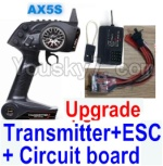 Wltoys A202 A212 A222 A232 A242 A252 Parts-31 Upgrade AX5S Transmitter & Upgrade 30A ESC & Upgrade Circuit board