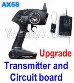 Wltoys A202 A212 A222 A232 A242 A252 Parts-32 Upgrade AX5S Transmitter and Upgrade Circuit board