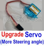 Wltoys A202 A212 A222 A232 A242 A252 Parts-37 Upgrade Servo(More Steering angle,More Cheap price)