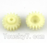 Wltoys A202 A212 A222 A232 A242 A252 Parts-47 17T Gear(2pcs)