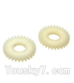 Wltoys A202 A212 A222 A232 A242 A252 Parts-49 29T Gear(2pcs)