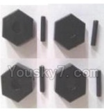 Wltoys A323-19 Spare Parts- Six angle adapter(4pcs)