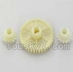 Wltoys A949 Parts-11 Official Reduction gear with 2 small gear