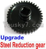 Wltoys A949 Parts-13 Upgrade Steel Reduction gear-Black