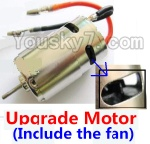 Wltoys A949 Parts-22 Upgrade Brush motor(Include the Fan,can strengthen the cooling function)