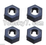 Wltoys A949 Parts-41 Official Hexagonal round seat(4pcs)