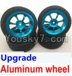 Wltoys A949 Parts-49 Upgrade Aluminum wheel(4pcs-Include the Tire leather)