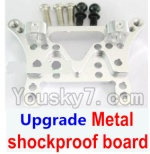 Wltoys A949 Parts-80 Upgrade Metal shockproof board-Silver
