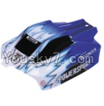 Wltoys A959 Parts-01 Car canopy,Sheel cover-Blue