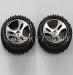 Wltoys A959 Parts-48 Official Right Wheel(2pcs)