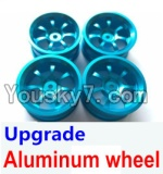 Wltoys A959 Parts-50 Upgrade Aluminum wheel(4pcs-Not include the Tire leather)