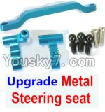 Wltoys A959 Parts-63 Ugrade Metal Steering seat-Blue