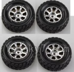 Wltoys A969-B-01-04 Parts-A969-01 Official Wheel(2pcs Left and 2pcs Right Wheel)