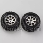 Wltoys A969-B-01-05 Parts-A969-01 Official Right Wheel(2pcs)