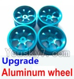 Wltoys A969-B-01-08 Parts-Upgrade Aluminum wheel(4pcs-Not include the Tire leather)