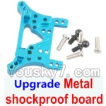 Wltoys A969-B-12-08 Parts-Upgrade Metal shockproof board-Blue