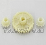 Wltoys A969-B-19-01 Parts-Official Reduction gear with 2 small gear