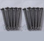 Wltoys A969-B-38 Parts-A949-41 Round head self-tapping screws-M2X16(10PCS)