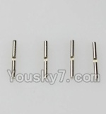 Wltoys A969-B-44 Parts-A949-51 Differential Hinge Pin(1.5mmX15.8mm)-4pcs