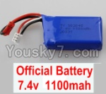 Wltoys A969 Parts-03 Official 7.4v 1100mah battery