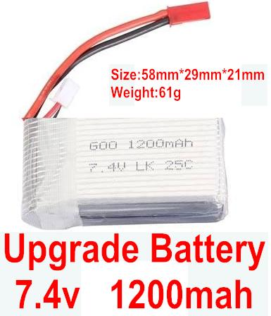 Wltoys A969 Parts-04 Upgrade 1200mah battery