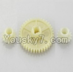 Wltoys A969 Parts-11 Official Reduction gear with 2 small gear