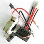 Wltoys A969 Parts-21 Upgrade 390 Brush motor & Upgrade Brush Motor ESC