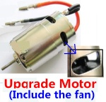 Wltoys A969 Parts-22 Upgrade Brush motor(Include the Fan,can strengthen the cooling function)