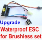 Wltoys A969 Parts-28 Upgrade waterproof ESC for the Brushless set