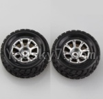 Wltoys A969 Parts-47 Official Left Wheel(2pcs)