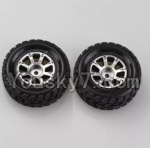 Wltoys A969 Parts-48 Official Right Wheel(2pcs)