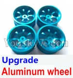 Wltoys A969 Parts-50 Upgrade Aluminum wheel(4pcs-Not include the Tire leather)