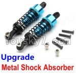 Wltoys A969 Parts-72 Upgrade Metal Shock Absorber(2pcs)-Blue