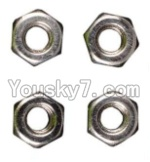 Wltoys A969 Parts-97 M3 Anti-loose Screw nut(4pcs)