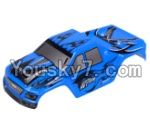 Wltoys A979 Parts-01 Car canopy,Sheel cover-Blue
