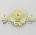 Wltoys A979 Parts-11 Official Reduction gear with 2 small gear