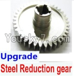 Wltoys A979 Parts-14 Upgrade Steel Reduction gear-Silver