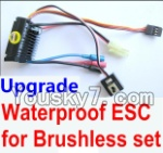 Wltoys A979 Parts-28 Upgrade waterproof ESC for the Brushless set